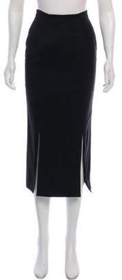 Alaia Casual Midi Skirt