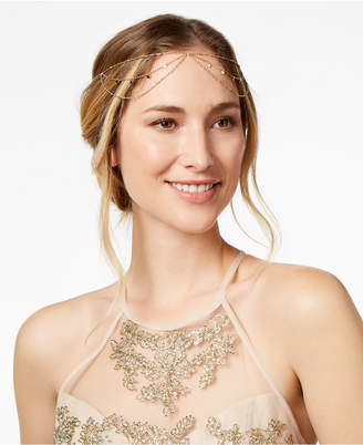 INC International Concepts I.N.C. Gold-Tone Mixed Metal Slider Headpiece, Created for Macy's