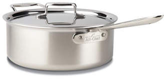 All-Clad 5.7L Brushed Stainless Steel Deep Saute Pan