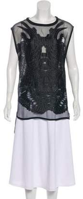 IRO Sleeveless Textured Top