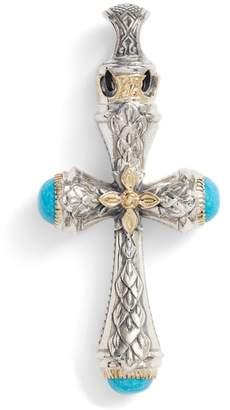 Konstantino Heonos Turquoise Cross