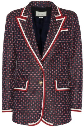 Gucci Cotton-blend blazer