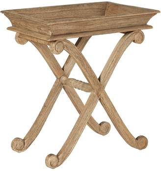 OKA Floresta Side Table - Weathered Beech