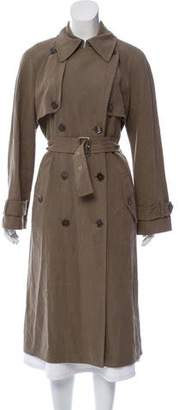 Michael Kors Distressed Trench Coat