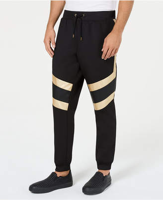 INC International Concepts I.n.c. Men's Gold Trim Jogger Pants