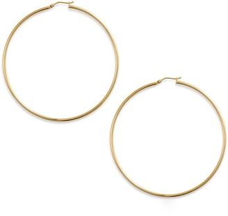 Bony Levy Extra Large Gold Hoop Earrings