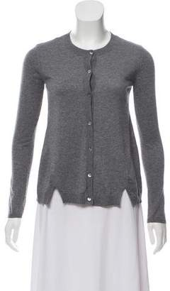 RED Valentino Cashmere-Blend Knit Cardigan