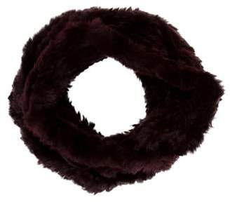 Adrienne Landau Rabbit Fur Stole