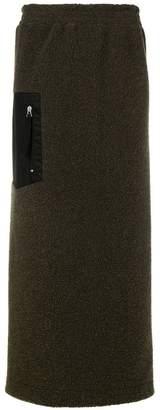 MM6 MAISON MARGIELA straight-cut skirt