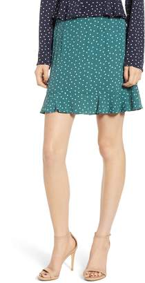 The Fifth Label Amore Heart Print Miniskirt