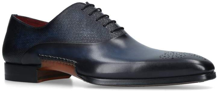 Magnanni Leather Opanka Oxford Shoes