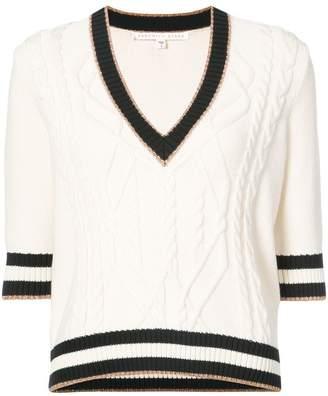 Veronica Beard Aria V-neck sweater