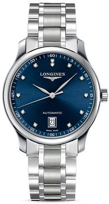 Longines Master Collection Watch with Diamonds, 38.5mm