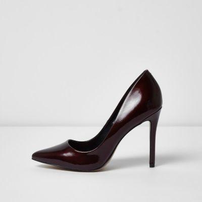 Dark Red Heels - ShopStyle Australia