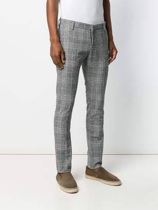 Entre Amis check tailores trousers