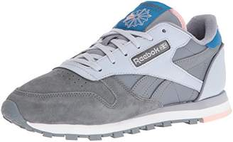 Reebok Women's CL Lthr EB Fashion Sneaker $26.46 thestylecure.com