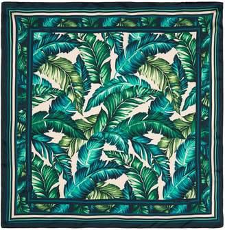 Sam Edelman Jade Palm Print Scarf