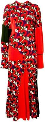Marni patchwork midi dress