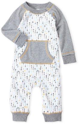 Baby Essentials Burt's Bees Baby (Newborn/Infant) Raglan Printed Romper