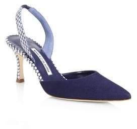 Manolo Blahnik Carolyne D'Orsay Heels