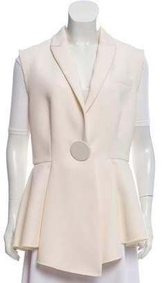 Givenchy Peak-Lapel Wool Vest