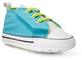 Baby Converse Chuck Taylor All Star First Star Easy Slip Crib Shoes $20 thestylecure.com