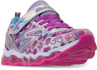Skechers Little Girls' S Lights: Glimmer Lights - Sparkle Dreams Light Up Running Sneakers from Finish Line