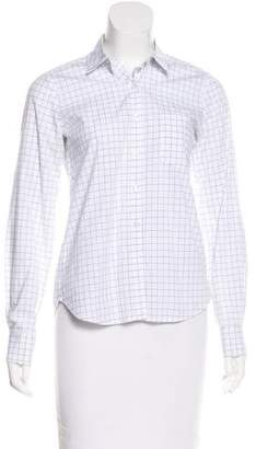 Steven Alan Printed Button-Up Top