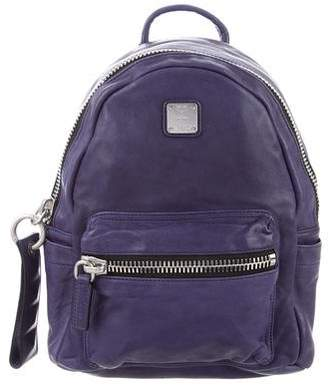 MCM Napa Leather Stark Backpack