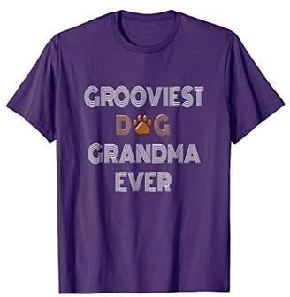 Funny Dog Grandma Vintage Shirt Dog Lover Grandma Gifts