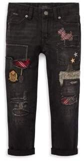 Ralph Lauren Little Girl's& Girl's Patch Jeans