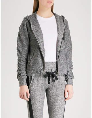 The Kooples Printed knitted jacket