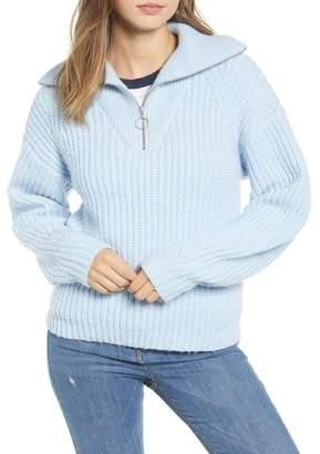 BP Quarter Zip Sweater