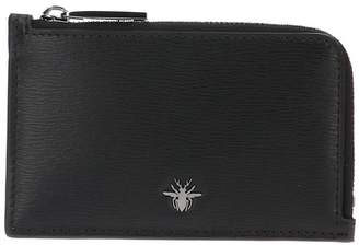 Christian Dior Bee Zipped Wallet