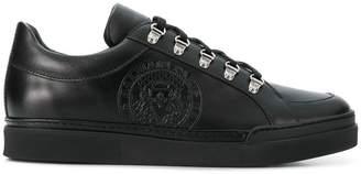 Balmain logo stamp low top sneakers