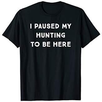 Hunter Funny Hunting Hunt T Shirt - Drinking Season Gift