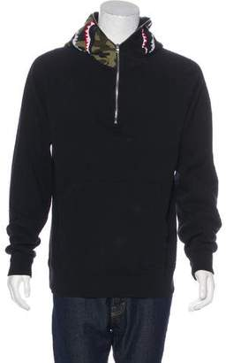 A Bathing Ape 1st Camo Shark Pullover Sweatshirt