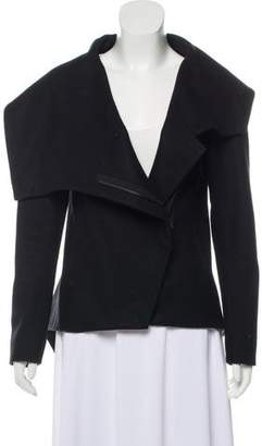 Helmut Lang Wool Zippered Jacket