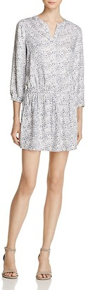 Soft Joie Capriana Printed Drop-Waist Dress $188 thestylecure.com
