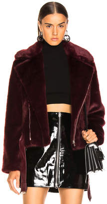Alexis Faux Fur Shura Jacket