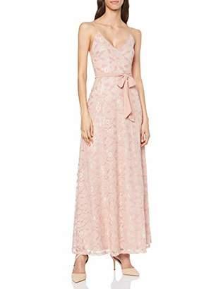 Vila Women's Vimash Maxi Dress/Za Party, Pink Rose Smoke, (Herstellergröße: 42)