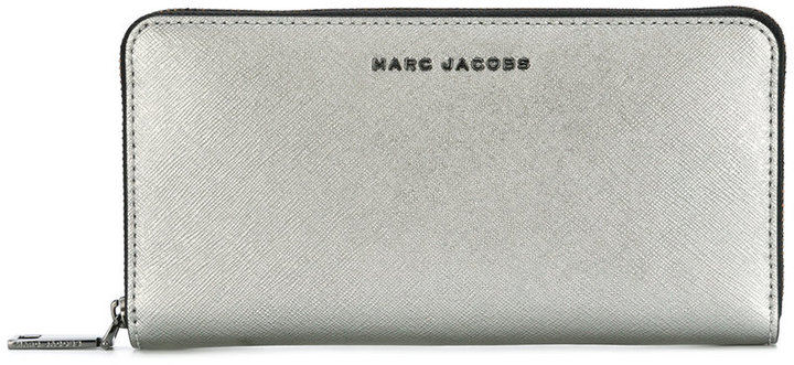 Marc Jacobs Marc Jacobs front plaque wallet