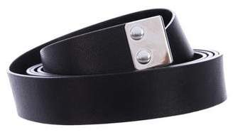 Marni Leather Waist Belt