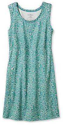 L.L. Bean (エルエルビーン) - フィットネス・ドレス、スリーブレス フローラル・スタンプ・プリント