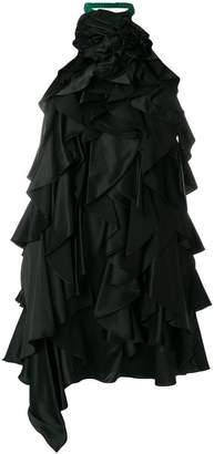 Saint Laurent ruffled dress