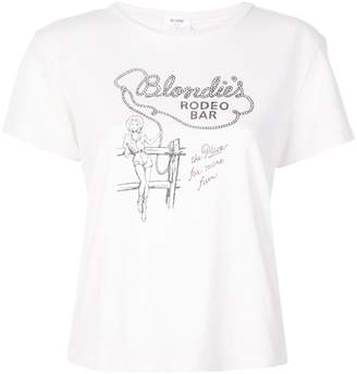 RE/DONE Blondie's T-shirt