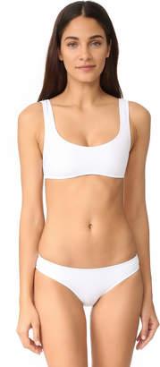 Solid & Striped Elle Bikini Top $79 thestylecure.com