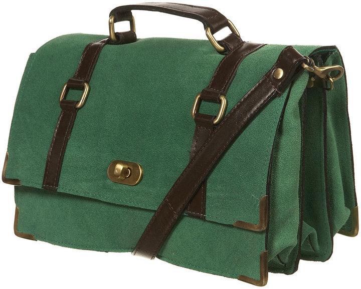 Suede Lady Box Bag