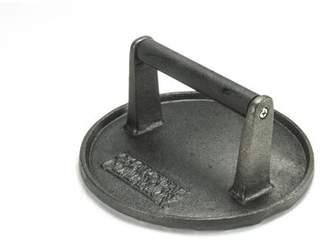 Charcoal Companion Cast Iron 7-Inch Diameter Grill Press, Round