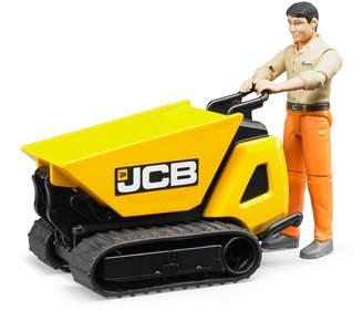 Bruder JCB Dumpster HTD-5 & Construction Worker